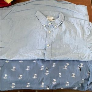 Large button up shirts